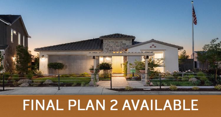 Elevation:Woodside Homes - Plan 2-A #1055