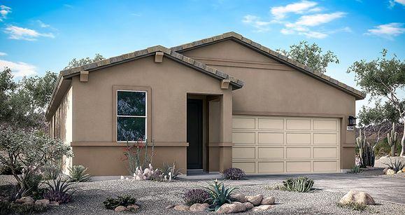 Elevation:Woodside Homes - Zion
