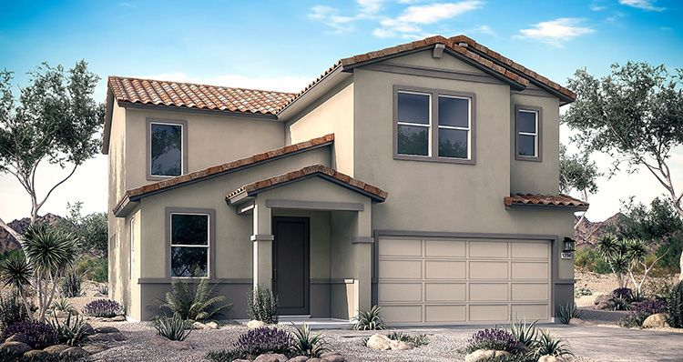 Elevation:Woodside Homes - Yosemite