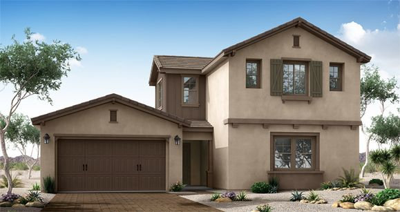 Elevation:Woodside Homes - Poise
