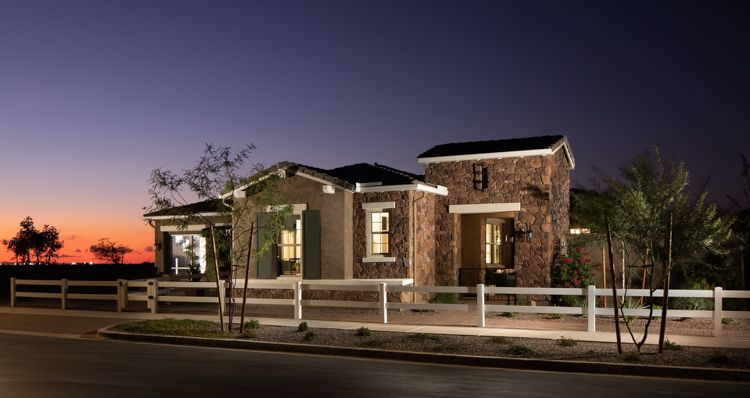 Elevation:Woodside Homes - Grace