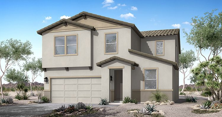 Elevation:Woodside Homes - Canyon