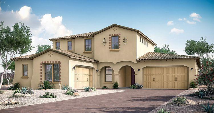 Elevation:Woodside Homes - Grandeur