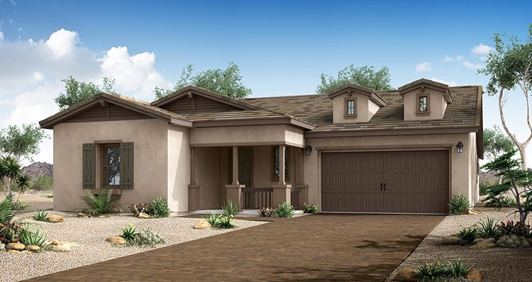 Elevation:Woodside Homes - Harmony