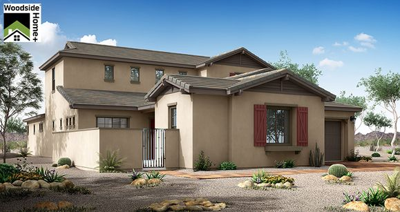 Elevation:Woodside Homes - Serenity