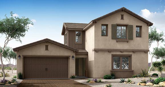 Elevation:Woodside Homes - Poise