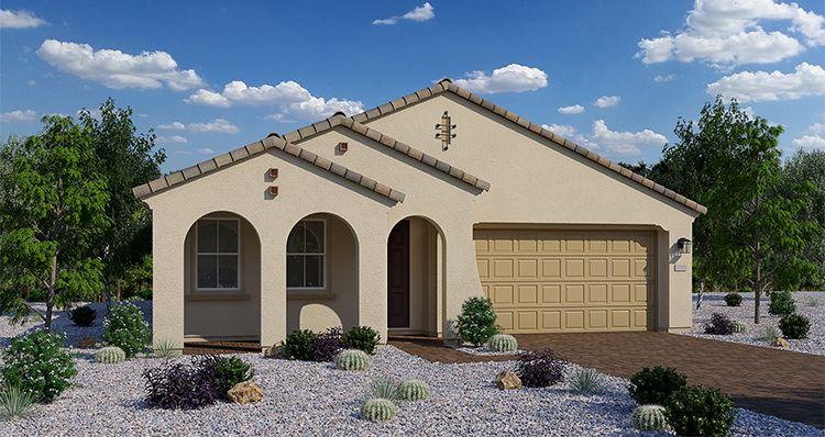 Elevation:Woodside Homes - Regal