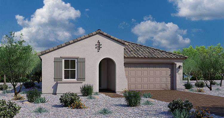 Elevation:Woodside Homes - Noble