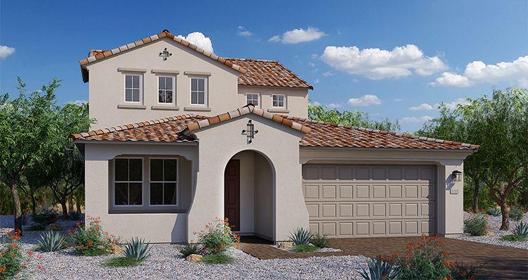 Elevation:Woodside Homes - Chalice