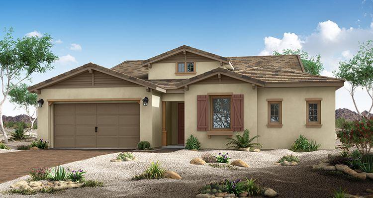 Elevation:Woodside Homes - Zen