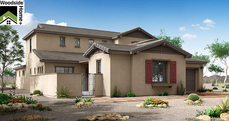 Elevation:Woodside Homes - Serenity