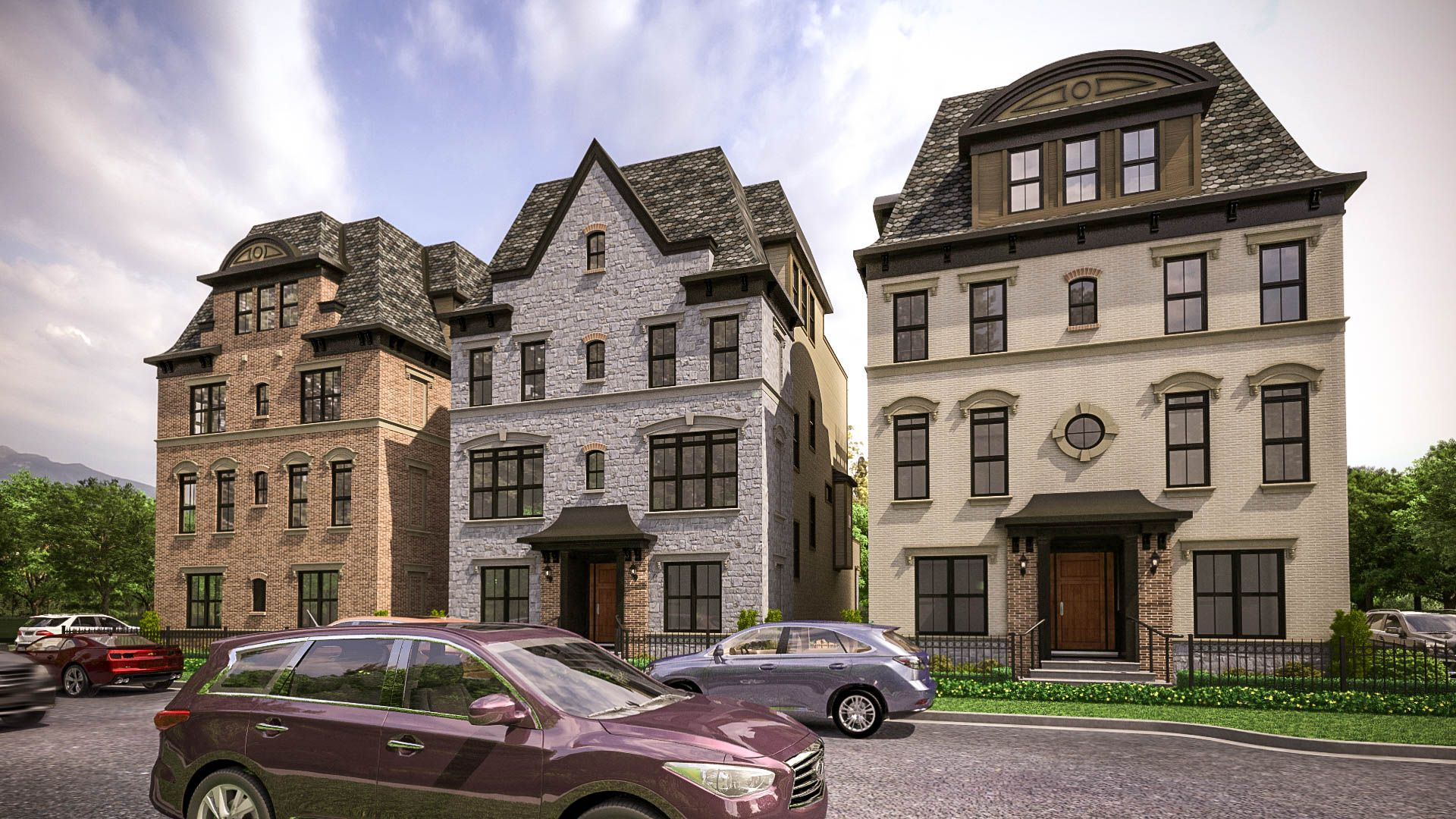 The City Home With Ballantrae Package Elevation